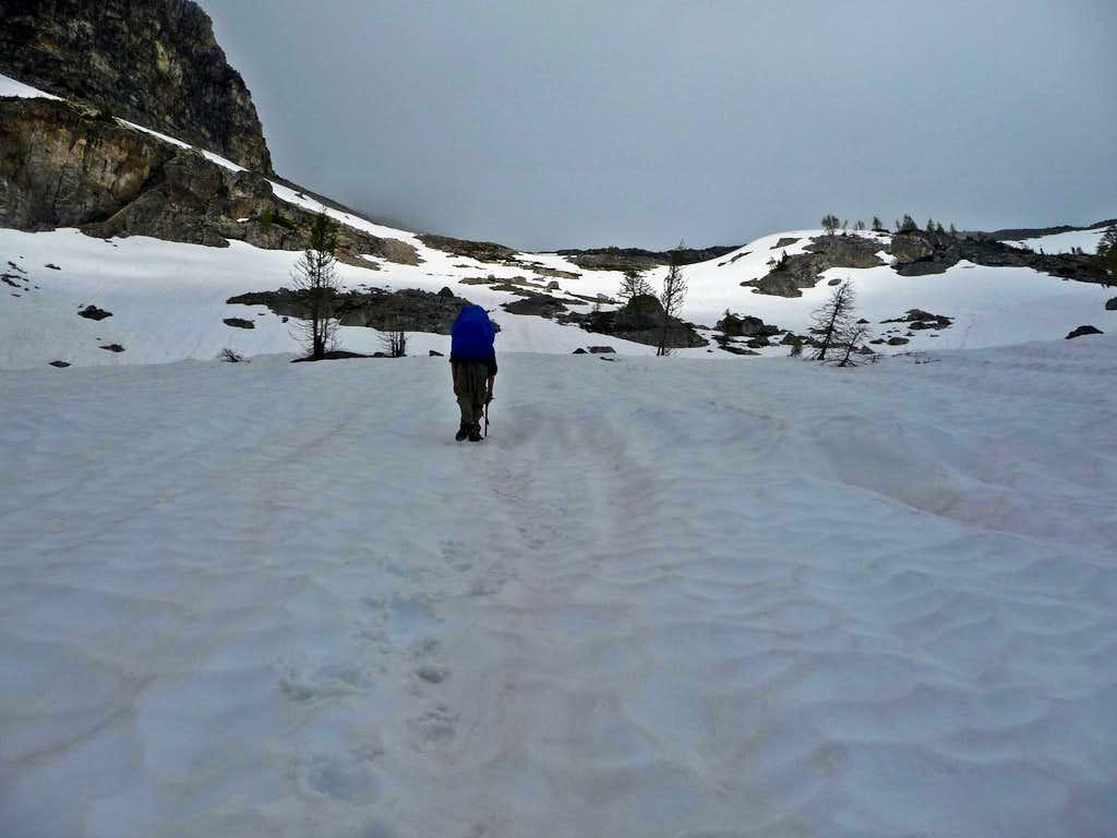 Heading into the Fremount Basin