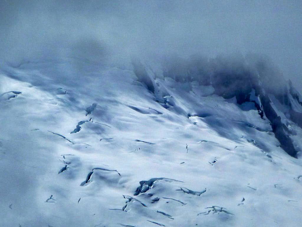 Boston Glacier in the Fog