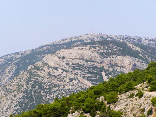 Vidova gora (island of Brač)