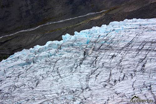 Svellnosbreen ice