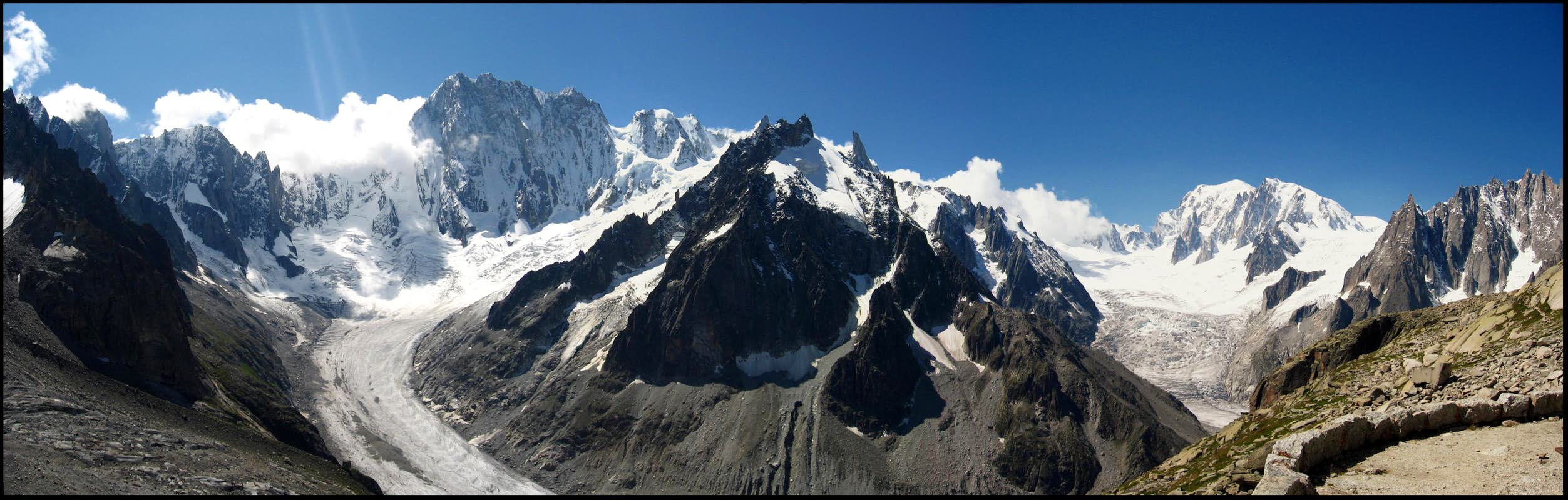 Mont Blanc massif seen from...