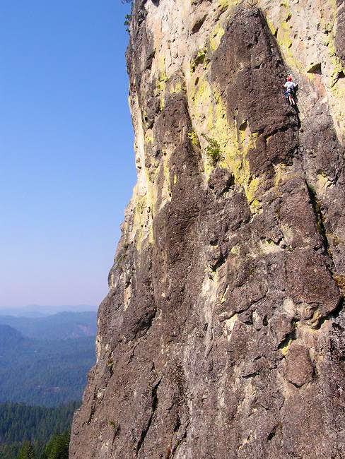 Yours truly on some 5.7 route...