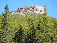 Estes Cone summit, southern...