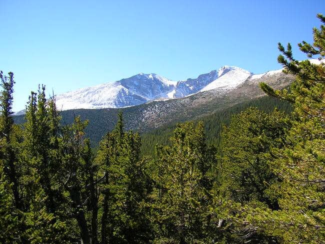 Mt. Meeker (left) and Long's...