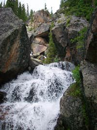 Unnamed waterfall
