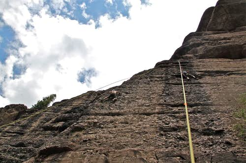 5.10s on pipeline wall