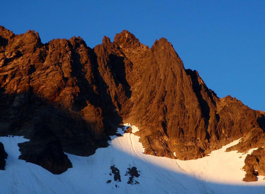 Big Horn Alpenglow