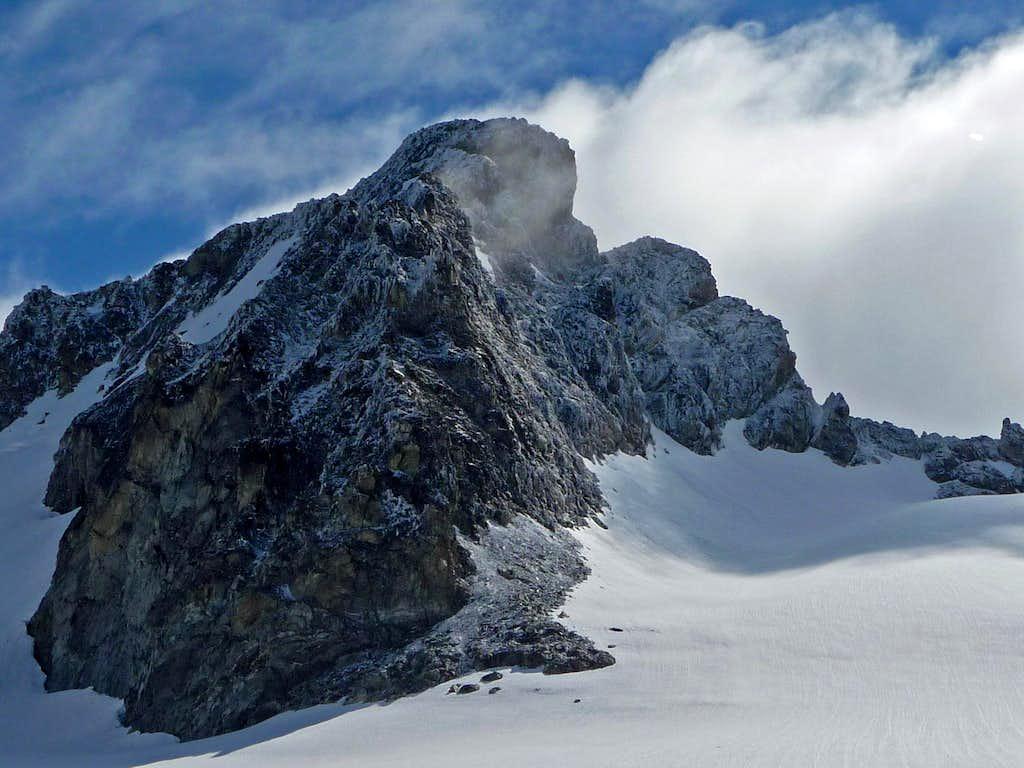 It looks like Winter on Mount Logan