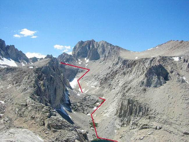 South Face Approach 2