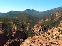 Red Pikes Peak granite from...
