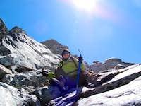 Ascending Banner Peak