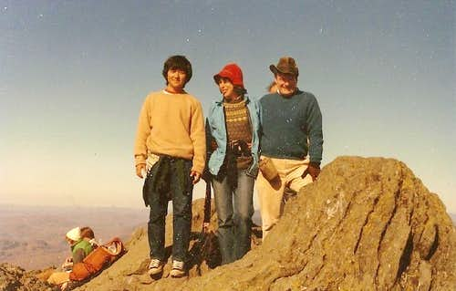 1982 Pucture from Camel\'s Hump (Vermont) Summit