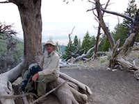 Saddle area on Borah Peak