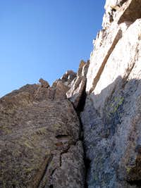 Looking up the second pitch