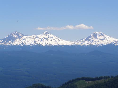 View of Three Sisters