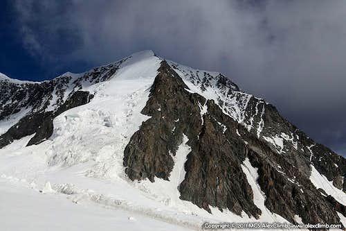 North East Ridge of Delone Peak