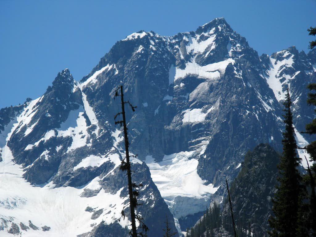 bottom of Ice Cliff glacier