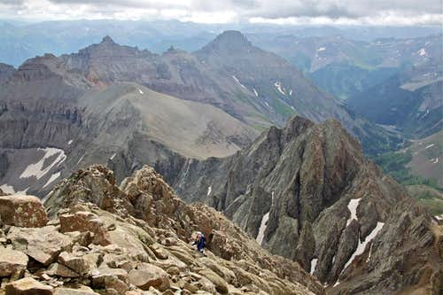 View from Mt. Sneffels