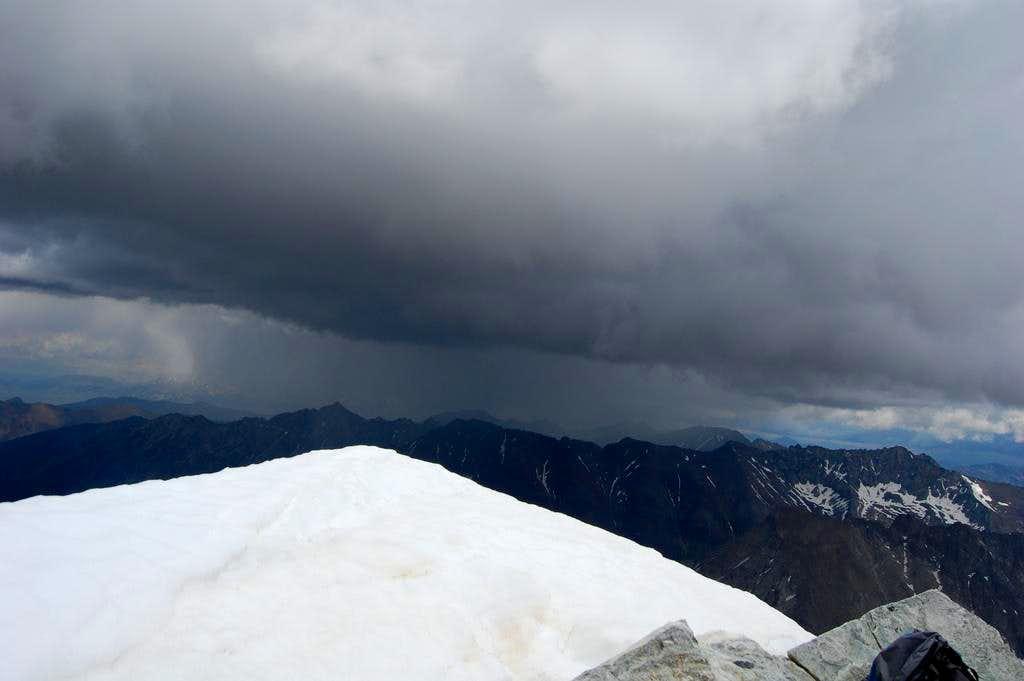 Storm over Hyndman
