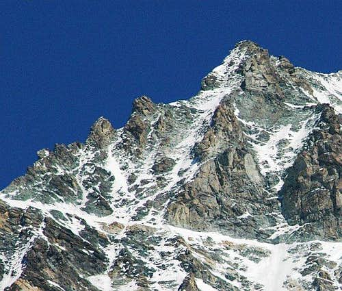 Dent Blanche : Part of north...