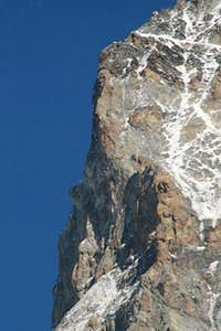 Dent Blanche : North pilar <br />