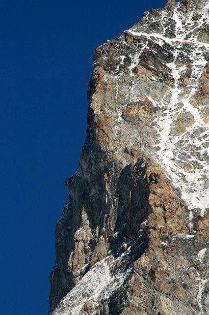 Dent Blanche : North pilar ...