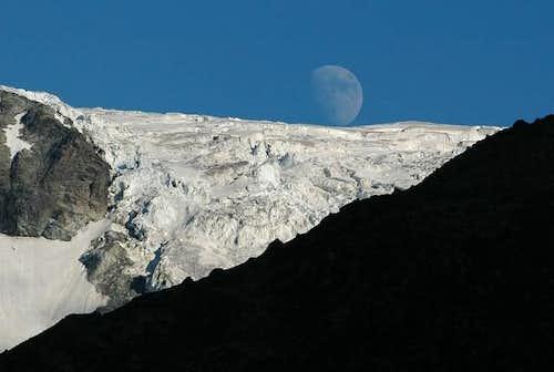 Ferpècle glacier July 2004