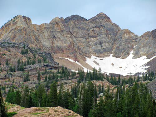 Monte Cristo from Lake Blanche