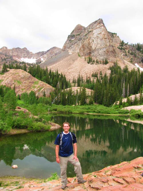 Brandon at Lake Blanche