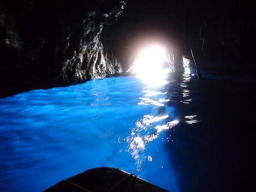 Blue cave on island Bisevo 2