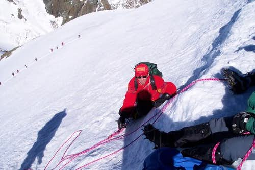 me on the west Breithorn;...
