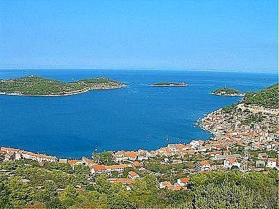 view on Vis from Saint Andrew