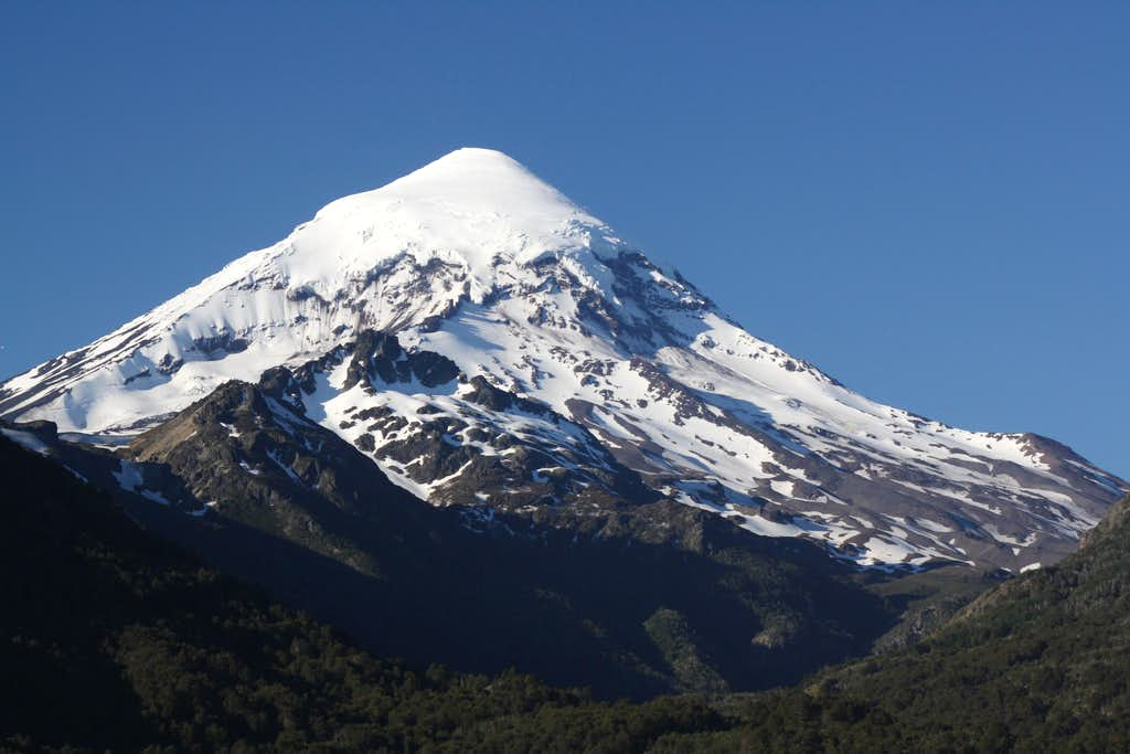 Volcan Lanin from the south