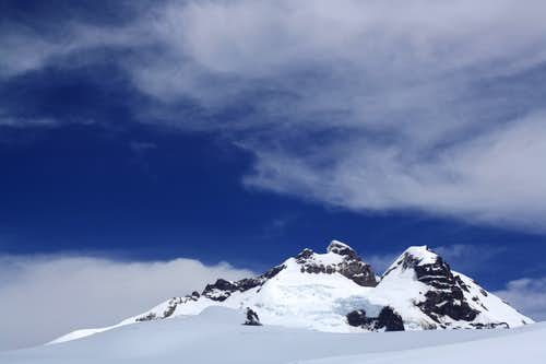 The summit of Tronador from near Refugio Otto Meiling