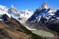 Cerro Torre and Fitzroy