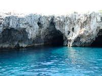 Green cave on Ravnik