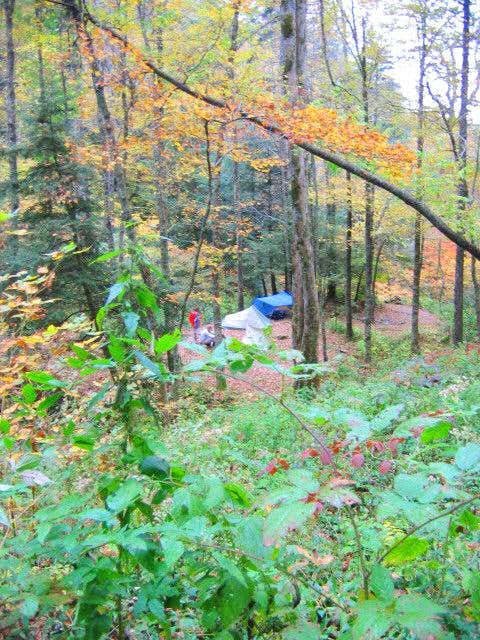 The Otter Creek Campsite....