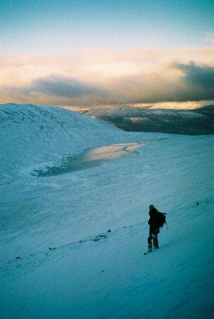 coming down from Ben Nevis on...