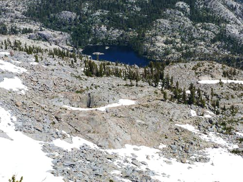 Azure Lake from Janine Peak