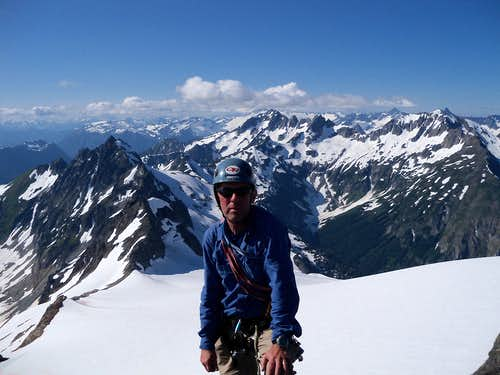 Me on summit of Old Guard