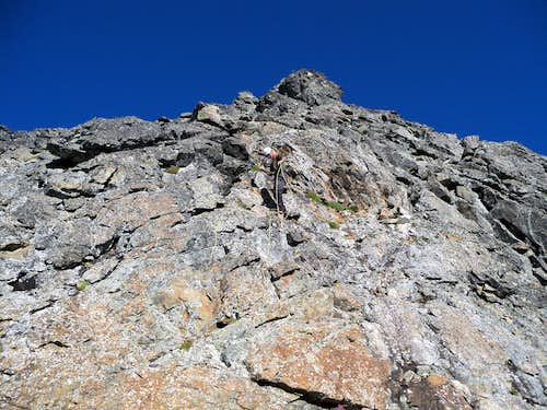 West Face route of Old Guard