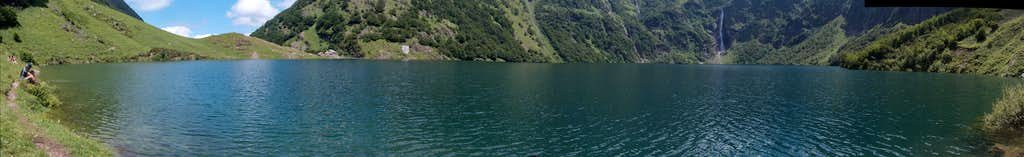 Panorama to the Lac d'Ôo