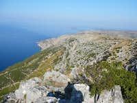 southern slopes of the island of Hvar