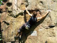 Rock climbing in Rudawy Janowickie