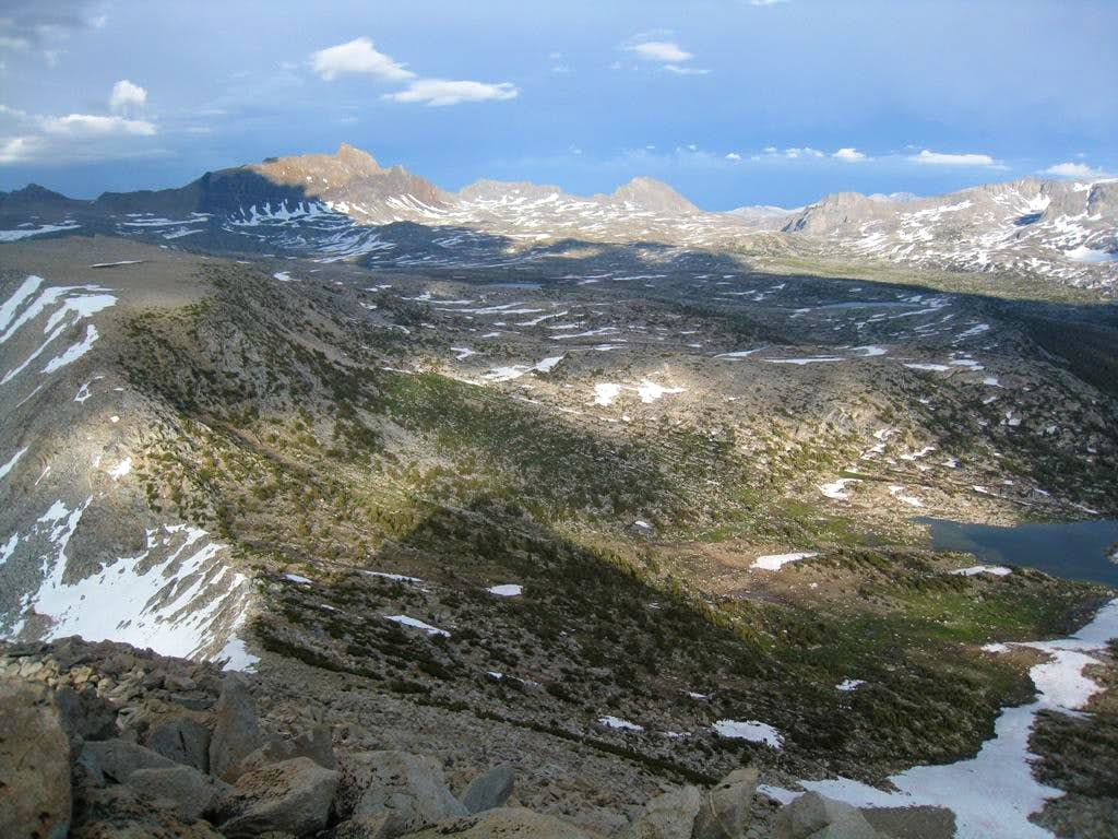 Humphreys Basin from Pilot Knob