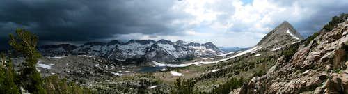 Thunderstorm on Glacier Divide
