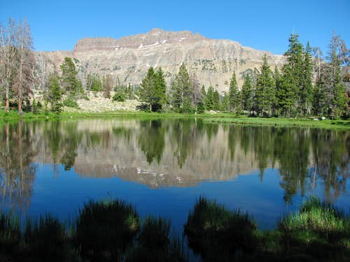 Hayden Peak reflection
