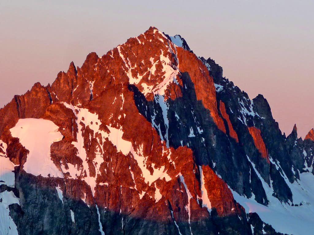 Sunrise on Buckner Mountain
