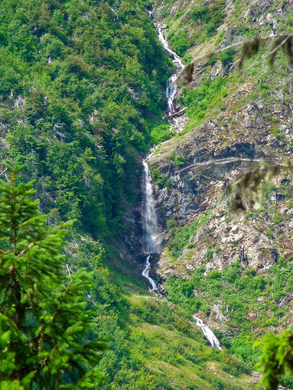 Waterfall off of Tricouni Peak