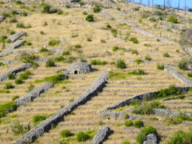 field stone houses